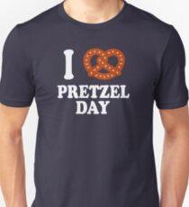 I Love Pretzel Day - The Office Unisex T-Shirt