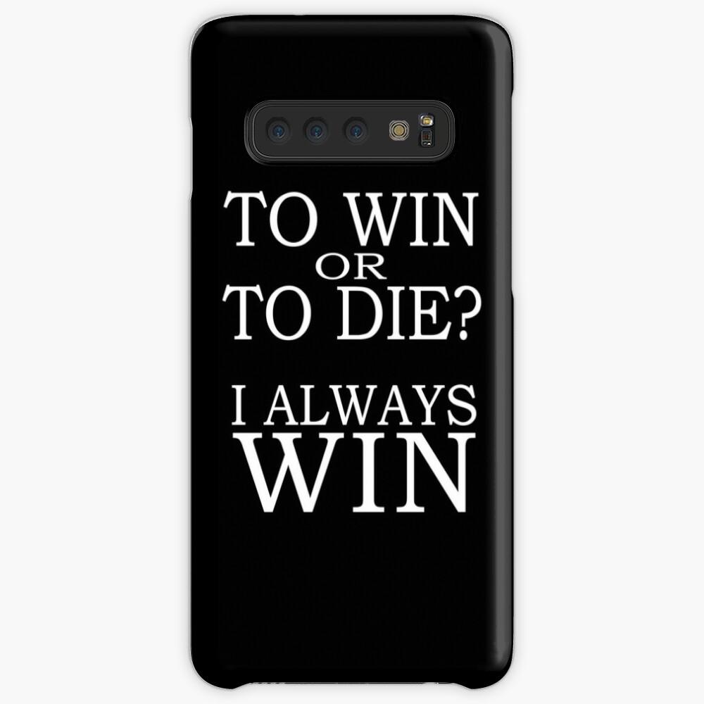 I Always Win Case & Skin for Samsung Galaxy