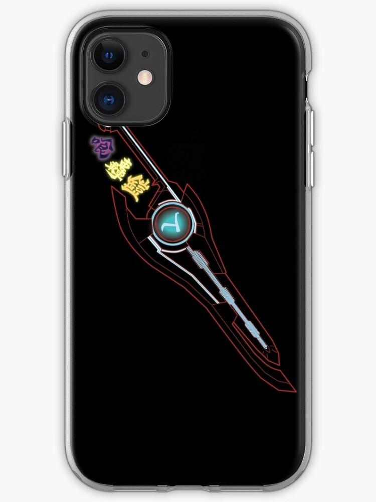 Xenoblade The power of Monado iphone case