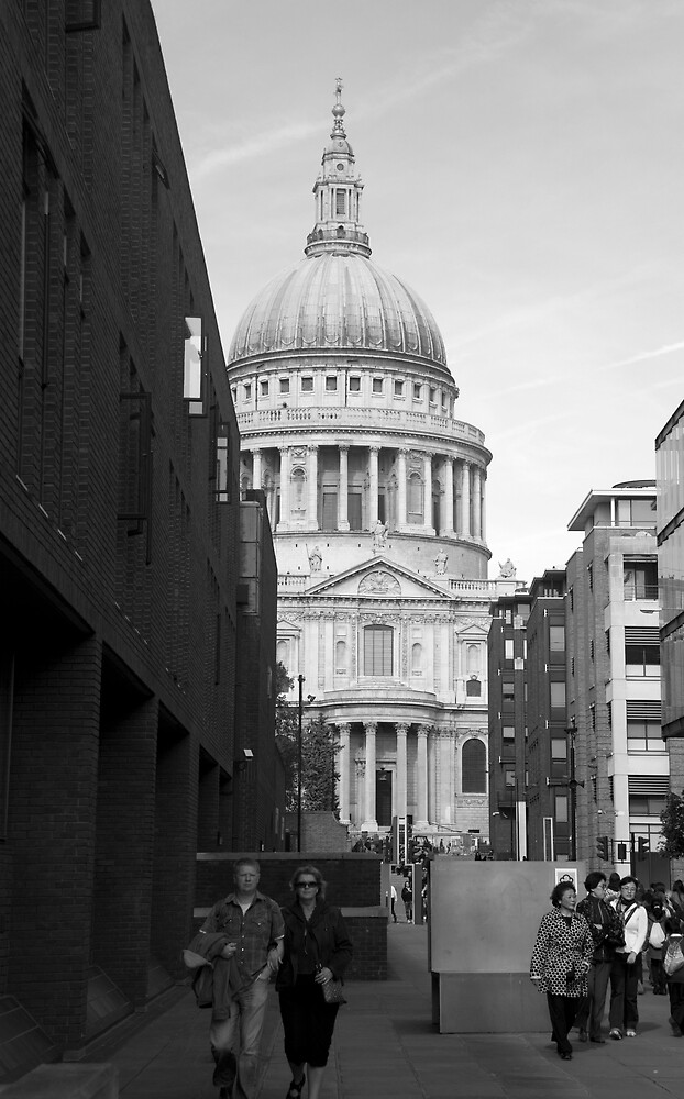 St Paul's Cathedral by Michelle Secombe