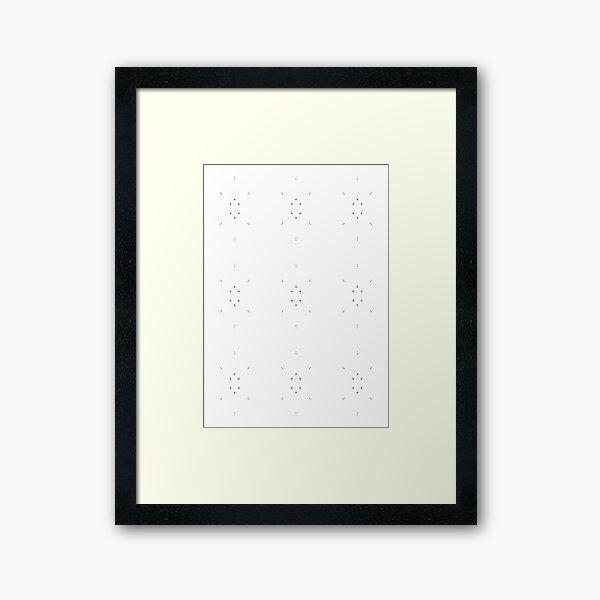 pattern, design, tracery, weave, decoration, motif, marking, ornament, ornamentation, #pattern, #design, #tracery, #weave, #decoration, #motif, #marking, #ornament, #ornamentation Framed Art Print
