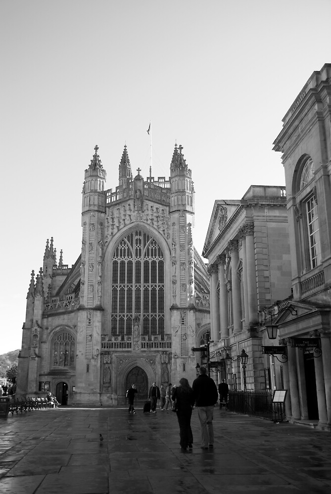 Bath Abbey by Michelle Secombe