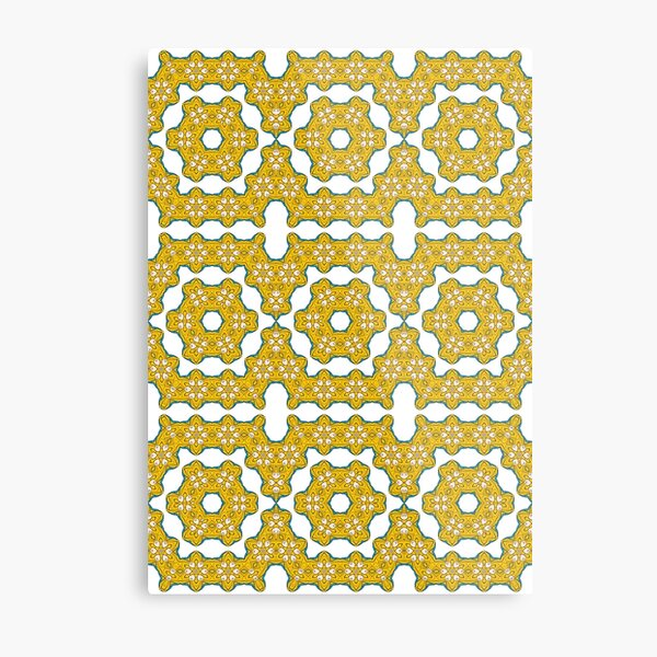 pattern, design, tracery, weave, decoration, motif, marking, ornament, ornamentation, #pattern, #design, #tracery, #weave, #decoration, #motif, #marking, #ornament, #ornamentation Metal Print