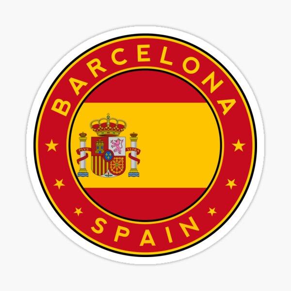 Barcelona sticker, Barcelona t-shirt, Spain, Cities of Spain Sticker