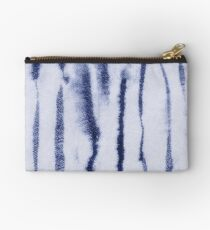 India Indigo Ink Lines by Margaret Juul Studio Pouch