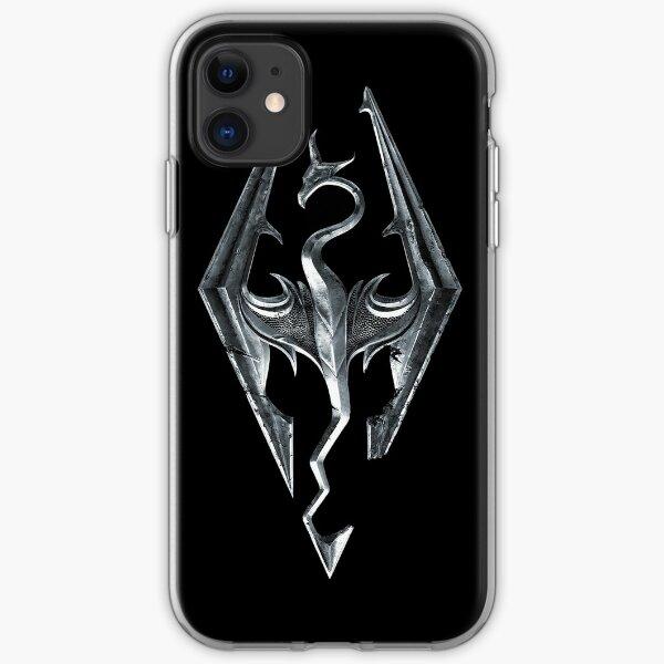 Skyrim Logo iPhone Soft Case