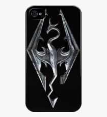 Skyrim Logo iPhone 4s/4 Case