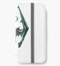 Green Skyrim Logo iPhone Wallet/Case/Skin