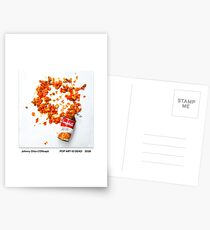 POP ART IS DEAD by Johnny Otto Postcards