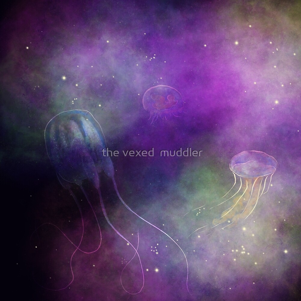 Galactic jellyfish by the vexed  muddler