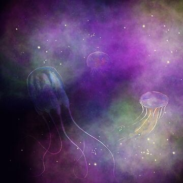 Galactic jellyfish by thevexedmuddler