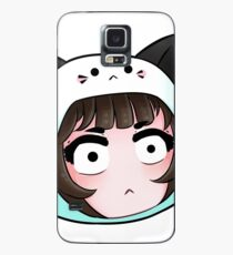 SPOOK Emote (DeviCat) Case/Skin for Samsung Galaxy