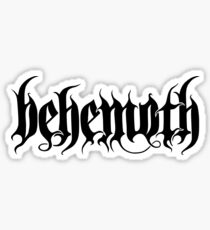 Behemoth Sticker