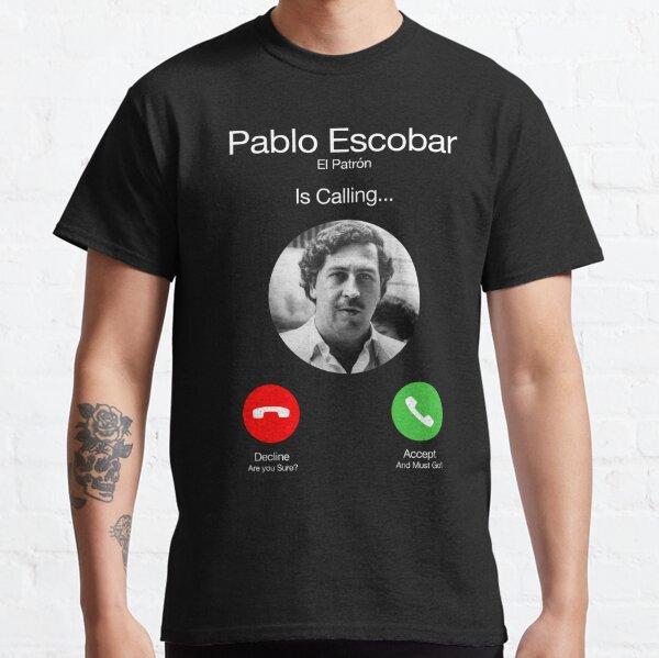 Pablo Escobar Llamando Camiseta clásica