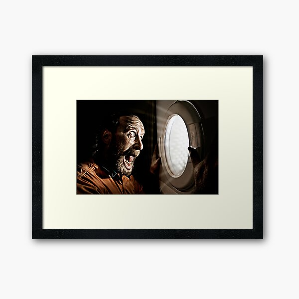 The Portal! Framed Art Print