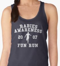 Rabies Awareness Fun Run Women's Tank Top