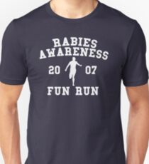 Rabies Awareness Fun Run Unisex T-Shirt