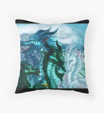 Wings of Fire - Royal SeaWings - Auklet, Tsunami, Turtle, Anemone Throw Pillow