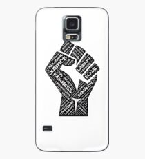 Civil Rights Black Power Fist Justice T-Shirt Case/Skin for Samsung Galaxy