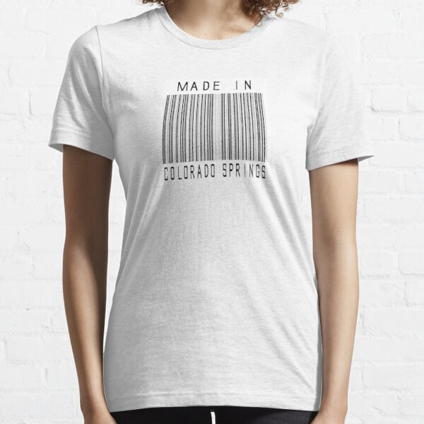 Made in Colorado Springs Essential T-Shirt