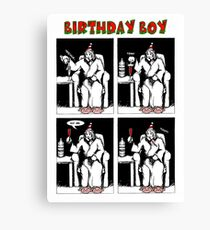 Birthday Boy Canvas Print