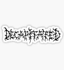 Decapitated Sticker