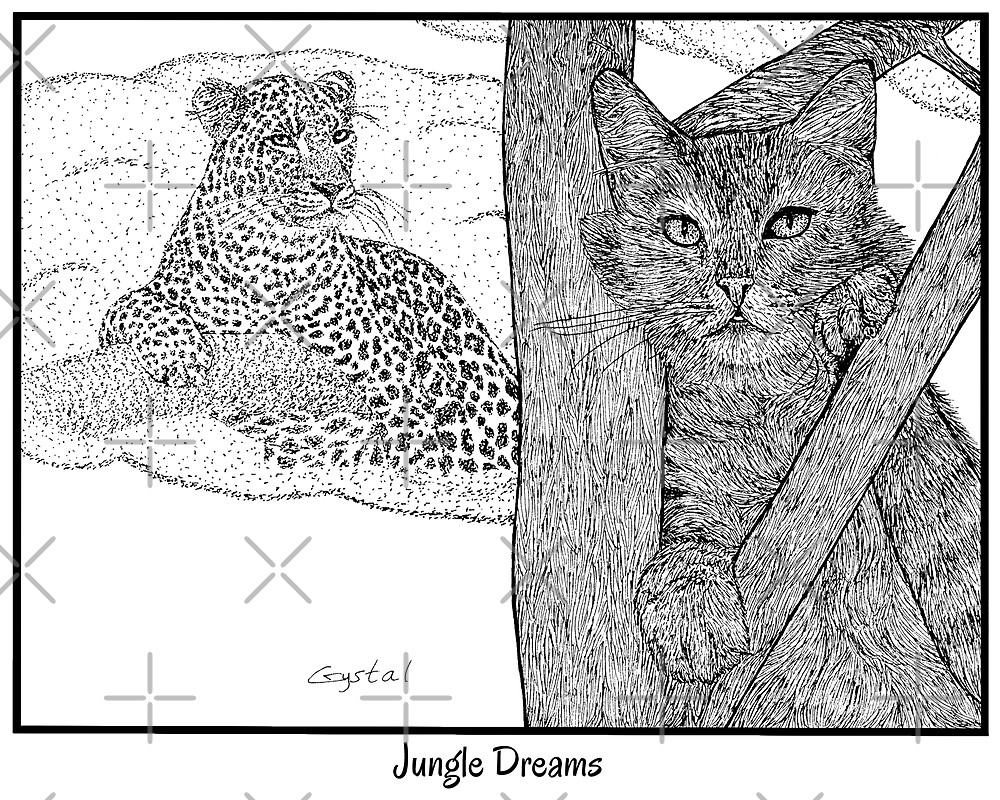 Jungle Dreams  (Wildcats Within Collection) by Crystal Raymond