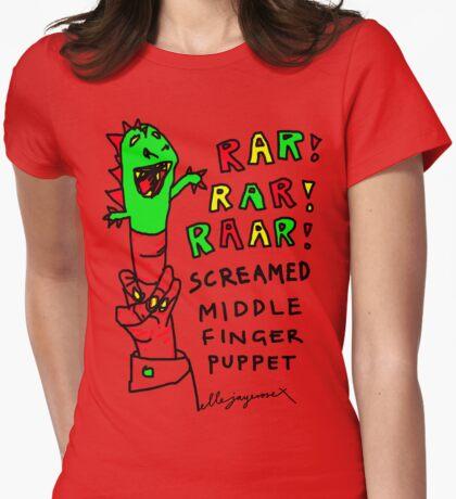 """Middle Finger Puppet"" T-Shirt"