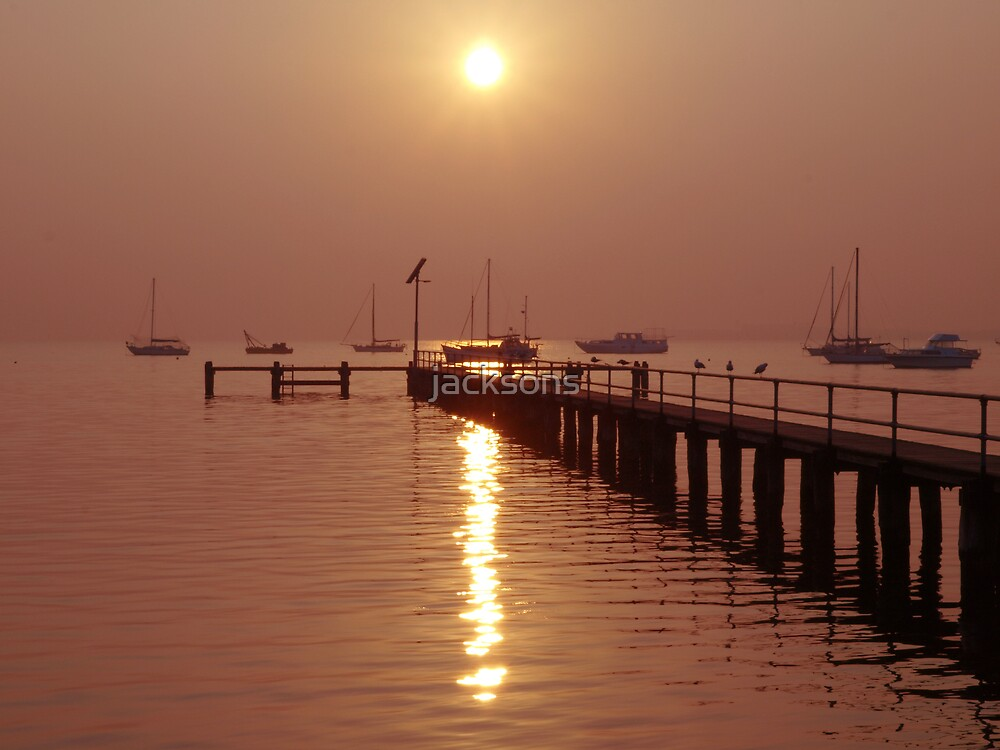 Sunrise - Geelong by jacksons