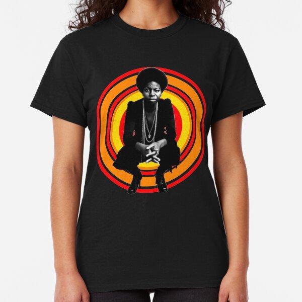 Retro Nina Simone Classic T-Shirt