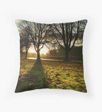 Sunrise in Burnsall, Yorkshire Dales Throw Pillow
