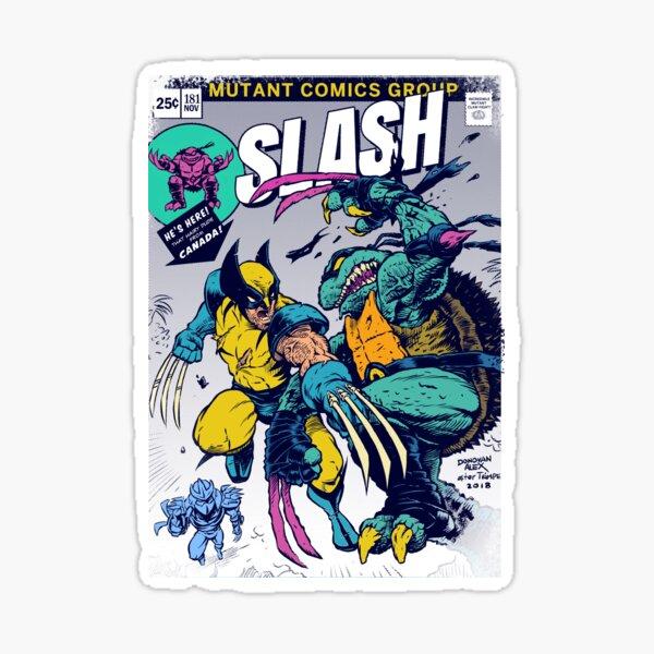 Wolvie vs Slash Sticker