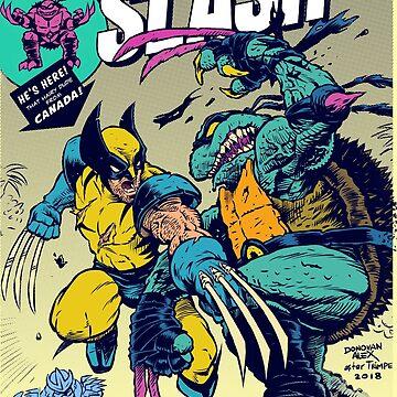 Wolvie vs Slash by donovanalex