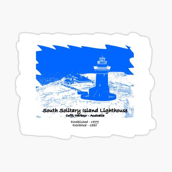 South Solitary Island - 1879 Sticker