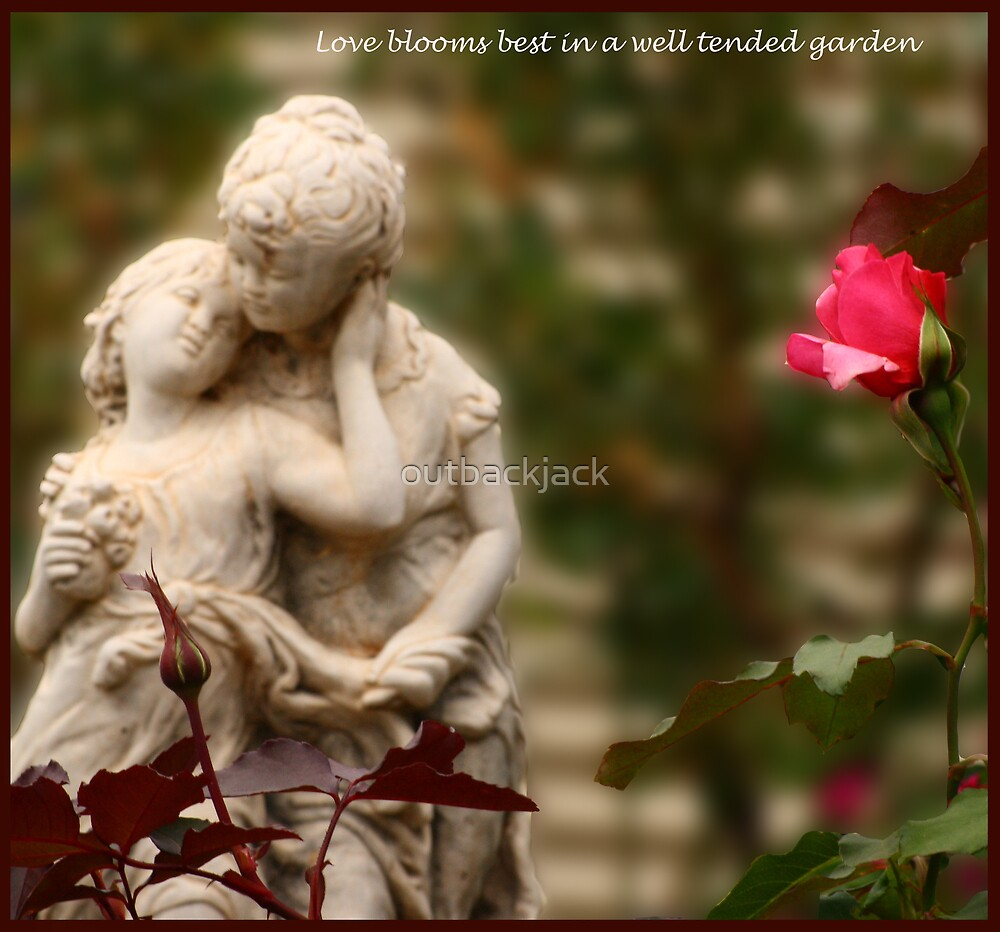 Love blooms best in a well tended garden by outbackjack