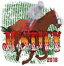 Justify 2018 Horse Racing by Ginny Luttrell