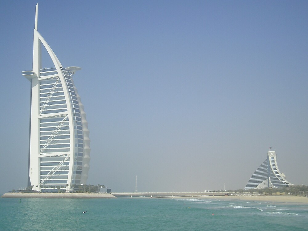 Burj Al Arab & Jumeirah Beach Hotel by Rhys1979