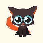 Cute Adorable Brown Kitty Cat  by cutecartoons
