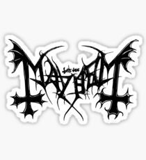 Mayhem Sticker