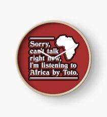 Afrika von Toto Uhr