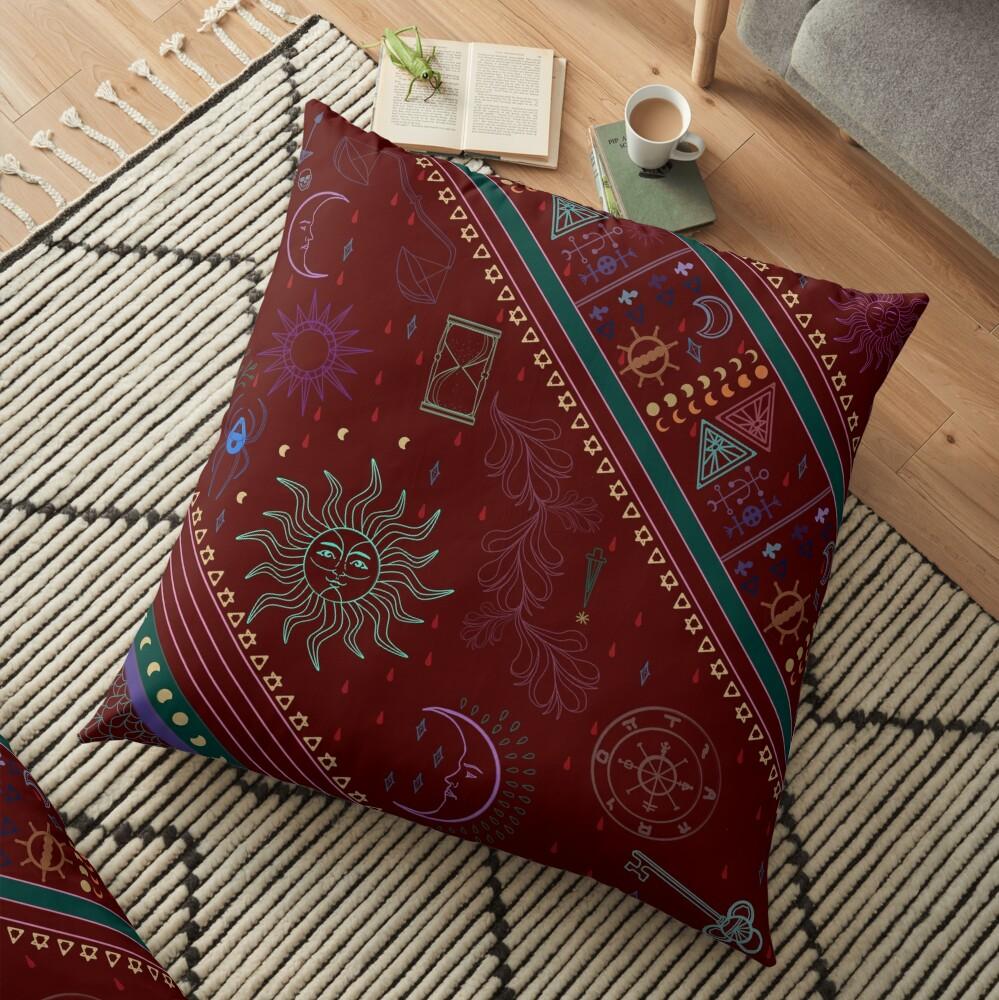 pyramid Floor Pillow