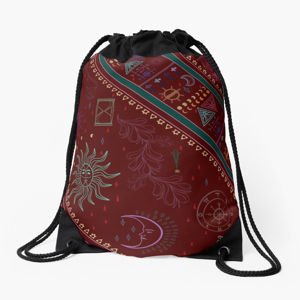 pyramid Drawstring Bag