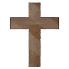 The Cross of Chris in Watercolor by Pamela Maxwell