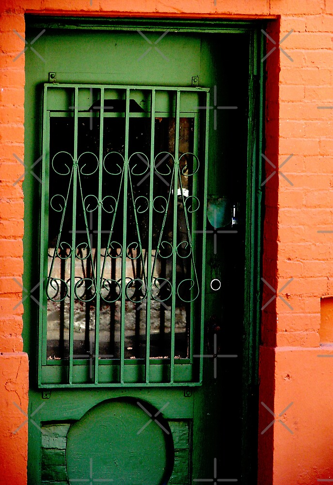 Yet Another Green Door by Kimberly Miller