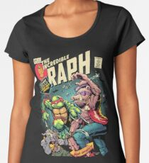Camiseta premium para mujer Increíble Raph