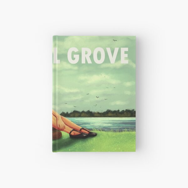 Visit Council Grove Hardcover Journal