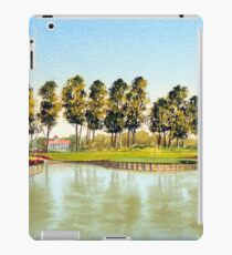 Sawgrass Golf Course Hole 17 iPad Case/Skin