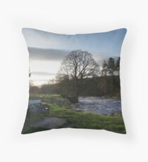 Viewing the Sunrise Throw Pillow