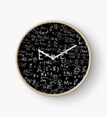 Reloj Ecuaciones Físicas