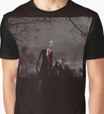 Slender Man Graphic T-Shirt